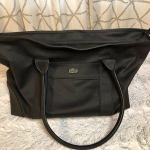 Lacoste Bags Large womans black tote